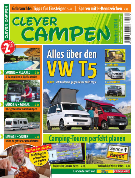 Clever Campen August 27, 2014 00:00