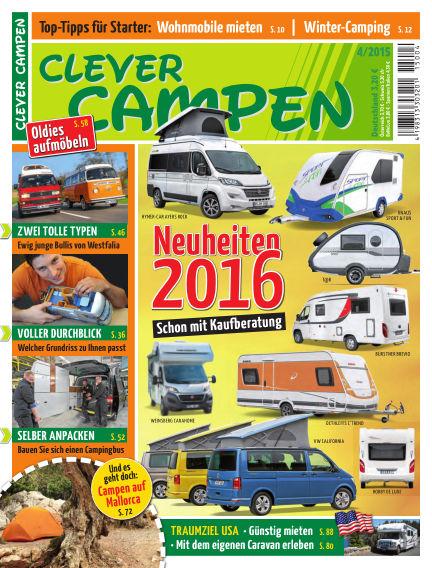Clever Campen October 07, 2015 00:00