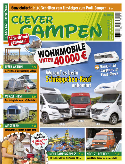 Clever Campen January 05, 2016 00:00