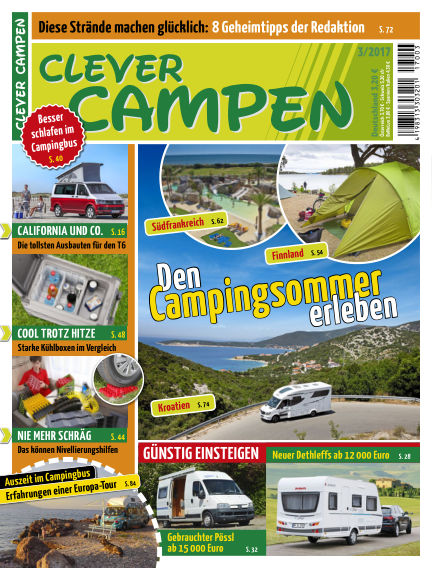 Clever Campen July 04, 2017 00:00