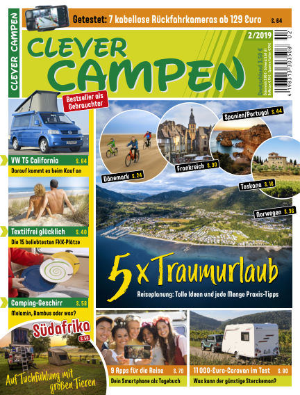 Clever Campen March 19, 2019 00:00