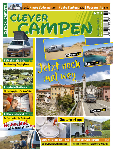 Clever Campen August 20, 2019 00:00
