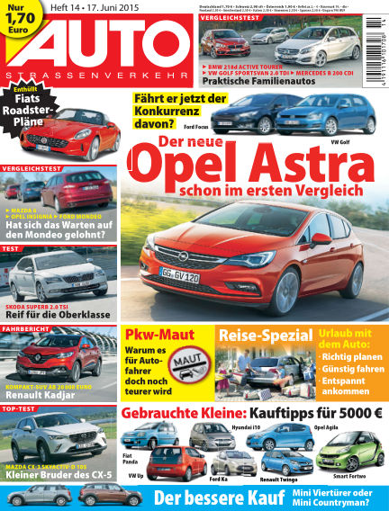 AUTOStraßenverkehr June 17, 2015 00:00