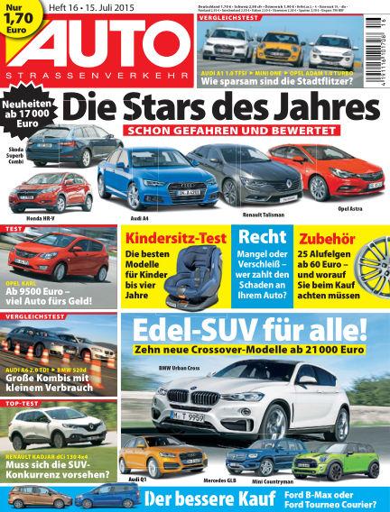 AUTOStraßenverkehr July 15, 2015 00:00