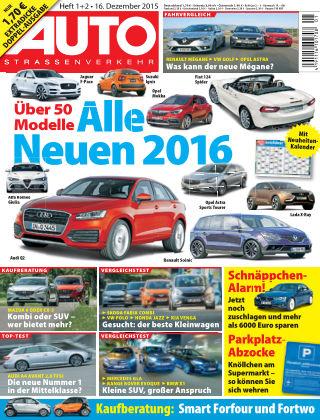 AUTOStraßenverkehr 01-02/2016