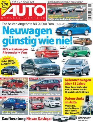 AUTOStraßenverkehr 04-2016