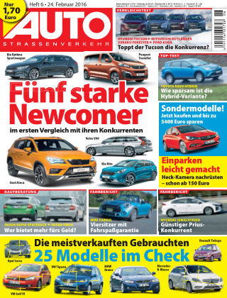 AUTOStraßenverkehr 06/2016