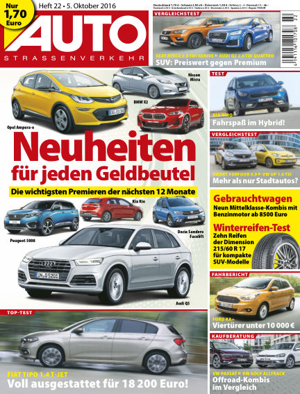 AUTOStraßenverkehr October 05, 2016 00:00