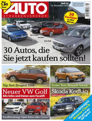AUTOStraßenverkehr 25/2016