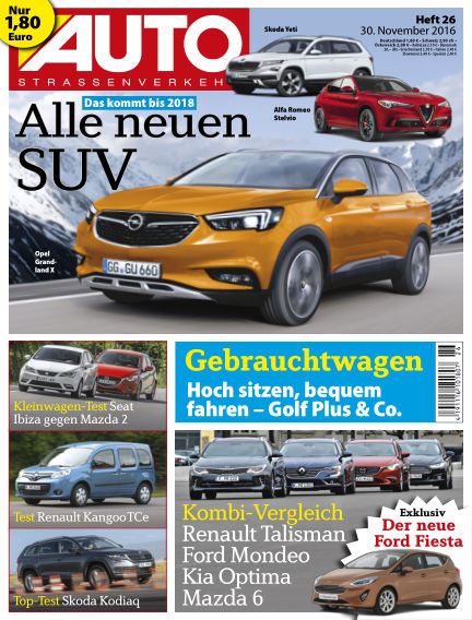 AUTOStraßenverkehr November 30, 2016 00:00