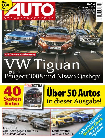 AUTOStraßenverkehr January 25, 2017 00:00