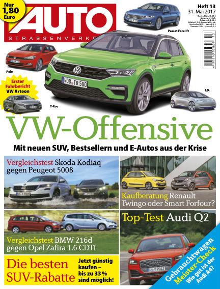 AUTOStraßenverkehr May 31, 2017 00:00