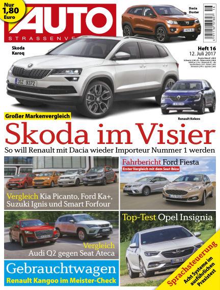 AUTOStraßenverkehr July 12, 2017 00:00