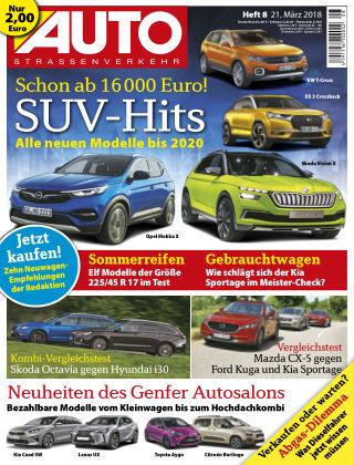 AUTOStraßenverkehr 08/2018