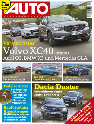 AUTOStraßenverkehr 09/2018