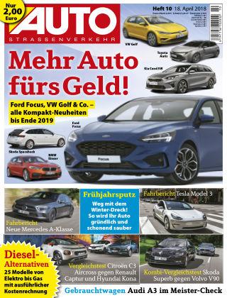 AUTOStraßenverkehr 10/2018