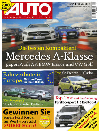 AUTOStraßenverkehr 13/2018