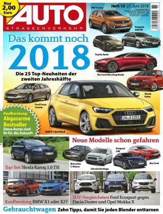AUTOStraßenverkehr 15/2018