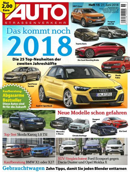 AUTOStraßenverkehr June 26, 2018 00:00