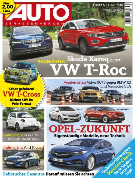 AUTOStraßenverkehr July 12, 2018 00:00
