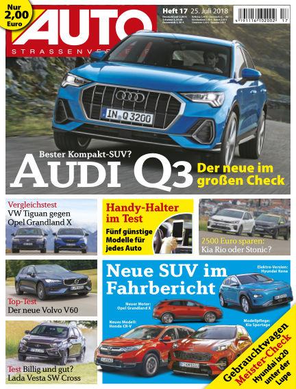 AUTOStraßenverkehr July 25, 2018 00:00
