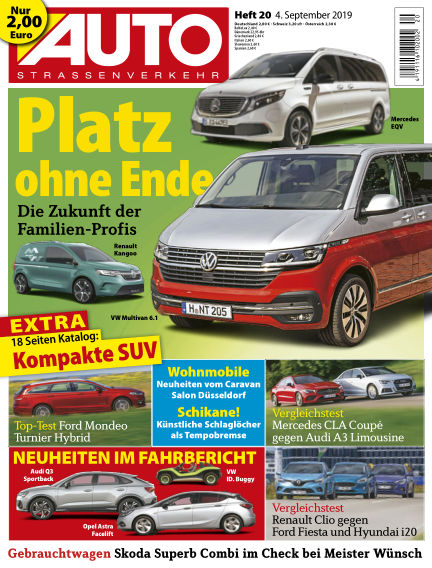 AUTOStraßenverkehr September 03, 2019 00:00