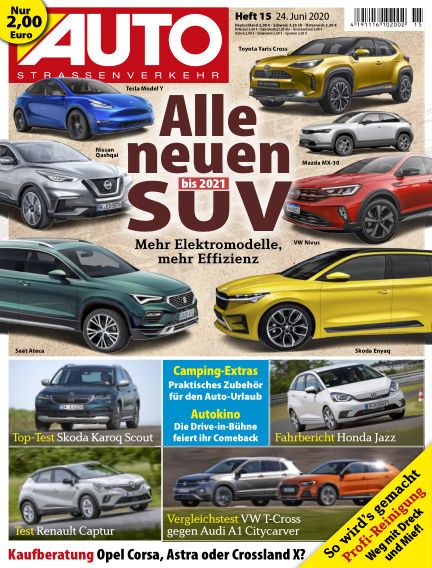AUTOStraßenverkehr June 24, 2020 00:00