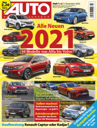 AUTOStraßenverkehr 01 2021