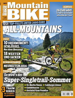 MOUNTAINBIKE 8/2015
