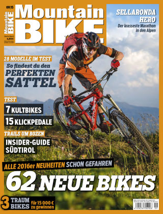 MOUNTAINBIKE 9/2015