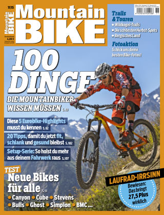 MOUNTAINBIKE 11/2015