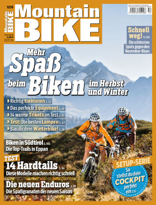 MOUNTAINBIKE 12/2015
