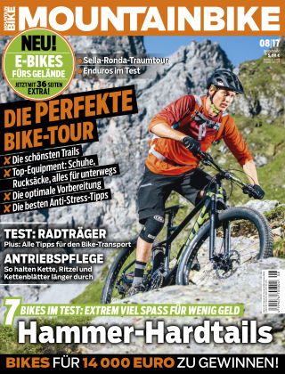 MOUNTAINBIKE 08/2017