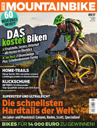 MOUNTAINBIKE 09/2017