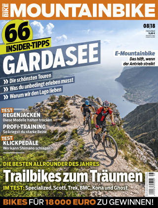 MOUNTAINBIKE 08/2018
