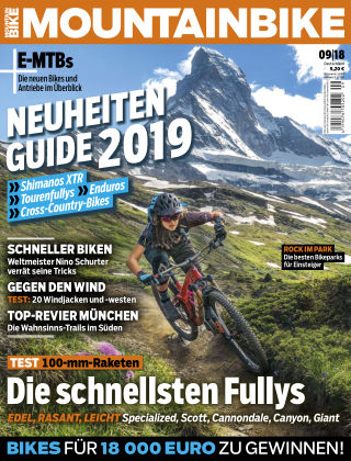 MOUNTAINBIKE 09/2018
