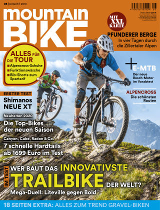 MOUNTAINBIKE 08 2019