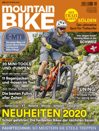 MOUNTAINBIKE 09 2019