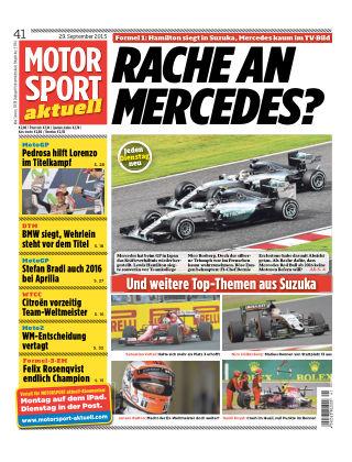 MOTORSPORT aktuell 41/2015
