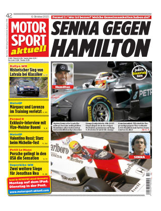 MOTORSPORT aktuell 42/2015