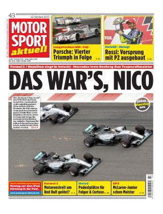 MOTORSPORT aktuell 43/2015