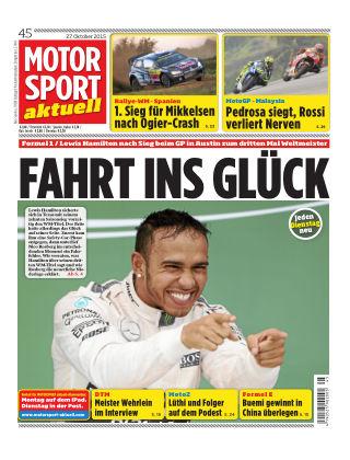 MOTORSPORT aktuell 45/2015