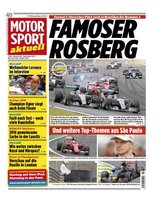 MOTORSPORT aktuell 48/2015