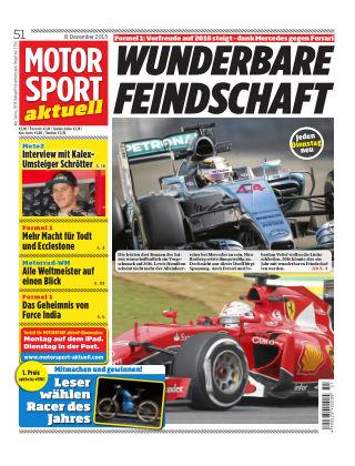 MOTORSPORT aktuell  51/2015