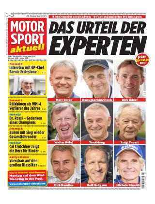 MOTORSPORT aktuell  01-03/2016
