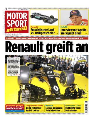 MOTORSPORT aktuell 08/2016