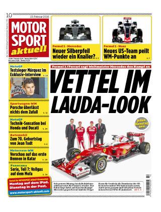 MOTORSPORT aktuell 10/2016