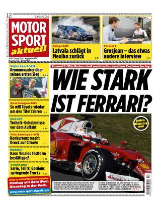 MOTORSPORT aktuell 12/2016