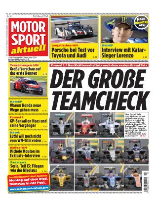 MOTORSPORT aktuell  15/2016
