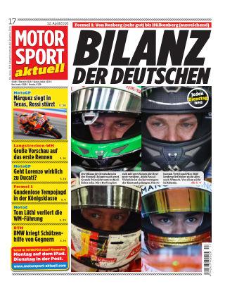 MOTORSPORT aktuell  17/2016